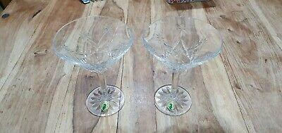 Waterford Crystal Cocktail Glasses X 2 • 50£