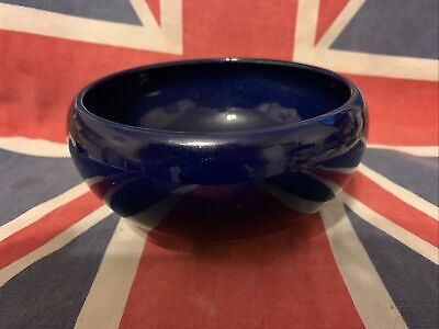"Royal Doulton Blue Stoneware Bowl. Approximately 61/2"" Diameter & 3"""" High. • 1.99£"