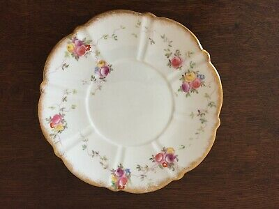 Victorian Aynsley Porcelain Side Plate • 15£