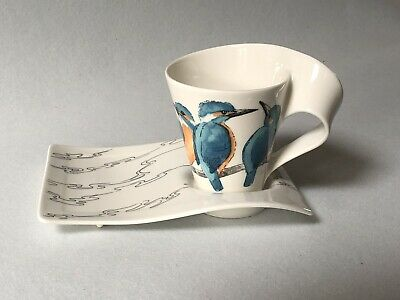 Villeroy Boch New Wave - Kingfisher Cup And Saucer • 15£