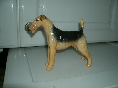 Beswick Airedale Terrier Ch. Cast Iron Monarch. • 25.99£