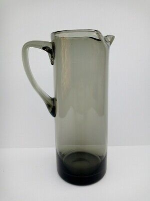 Vintage Whitefriars Smoked Glass Jug  • 12.90£