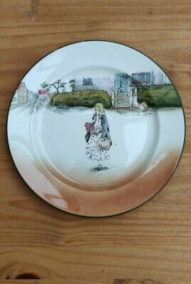 Royal Doulton Little Nell Plate • 14.99£