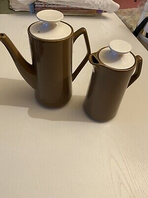 Brown Beswick Coffee And Water Jug Set • 25£