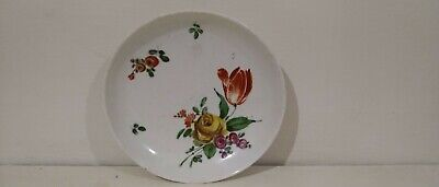 Rare 18th Century English Soft Paste Porcelain Saucer - Probably Liverpool. • 36£