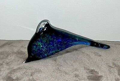 Lovely Glass Dolphin Blue Green Wedgwood • 10£