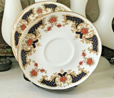 DUCHESS 'westminster' Saucer/plates X 2, China Hire, Weddings Spares/replacement • 9£