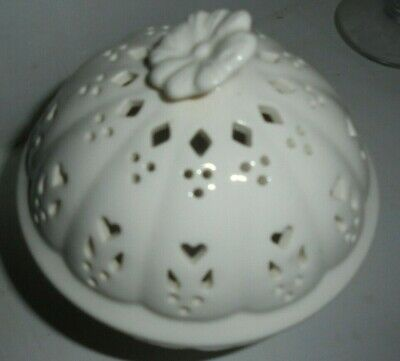 Leeds Pottery Creamware Pot Pourri Bowl And Cover • 6.99£