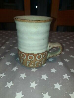 Vintage Tremar Pottery Cornwall Stoneware Mug 4in Height • 2.50£
