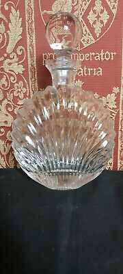 Art-deco French Enamelled Glass Decanter • 19.99£