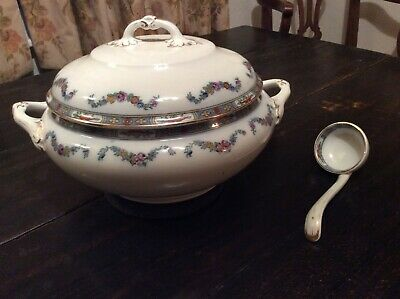 Old Soup Tureen And Ladle. • 18£