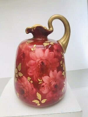 Doulton. Burslem. Antique Handpainted Jug. Signed By Kelsall. 6 Inches Tall. • 20£