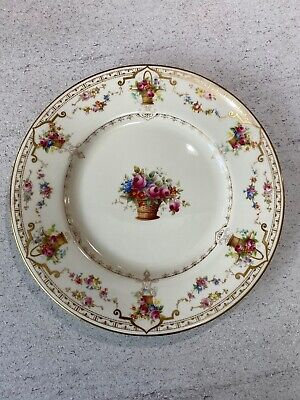 Antique Royal Doulton Burslem Cabinet Plate Approx 1902 With Royal Warrant • 30£