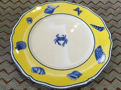 COSTA AZZURRA By LYNN CHASE 6 1/2  Bread & Butter Plate Free Shipping • 32.07£