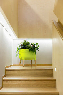 Plastia Urbalive Low Planter - Light Green • 89.99£