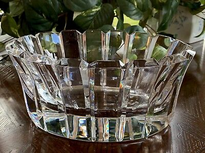 Orrefors Stenhammar Oval Bowl Mint Condition Outstanding Swedish Crystal Signed • 277.22£