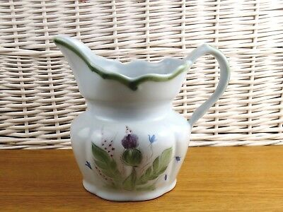 Buchan Thistle Large Jug Pitcher Approx 2.5 Pints Fancy Top Buchan Stoneware • 24.95£