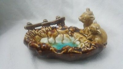 Vintage Jersey Cow Trinket Dish/ashtray • 3.99£