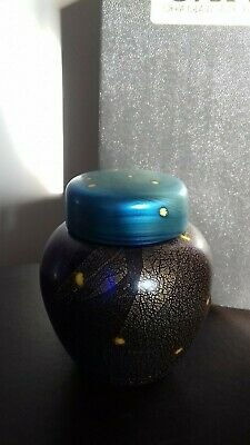 Okra Glass Ode To A Nightingale Ginger Jar Limited Edition • 165£