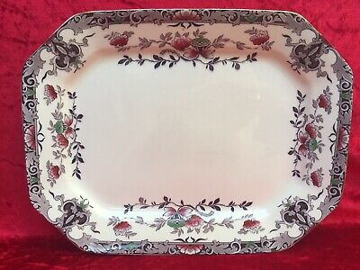 1930's Burgess & Leigh, BURLEIGH WARE, Multicolour 'ORIENT' Large Serving Plate  • 22£