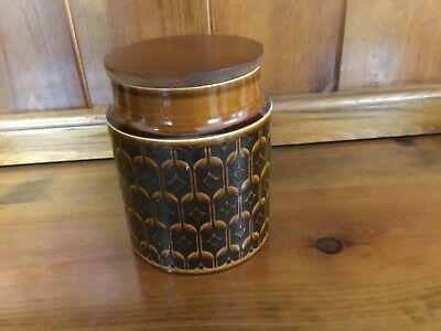 Hornsea Heirloom Canister 15cm Height • 3£