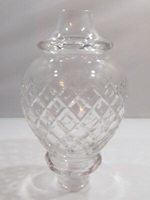 Cut Glass Crystal Table Lamp Shade - Lovely Quality Piece (h:21cm) • 45£