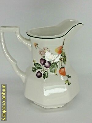 Johnson Brothers / Regal Collection Fresh Fruits Tall  Jug • 8£