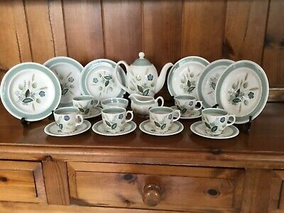 Woods Ware Clovelly Coffee Set 22pce • 30£