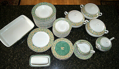 Bhs Valencia Table Plates, Soup & Cereal Bowls, Tureens, Butter Dish - Crockery • 6.50£