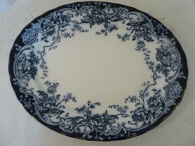 Antique Victorian Keeling Late Mayers Chatsworth Large Meat Plate Platter 15.75  • 24.99£