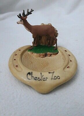 Vintage Manor Ware Lucky Horseshoe,  Chester Zoo.  • 2.99£