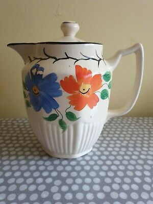 Vintage Arthur Wood Coffee Pot. Floral Design. Made In England.  • 12£