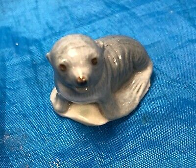 Whimsey Baby Seal Pup  Grey 1  Ornament  • 6.99£