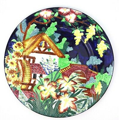 Maling Watermill Tube Lined Plate 28 Cm • 49.99£