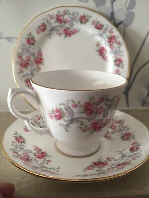 Royal Osborne Trio - Cup - Saucer And Side Plate • 5.95£