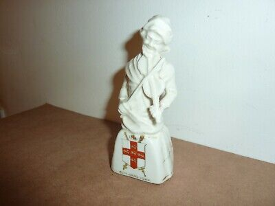 Foreign China 12.2 Cm High Model Of The Fiddler York With City Arms York Crest • 18£