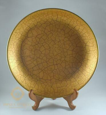 Stunning Large Rosenthal Classic Rose Handpainted Gold Pattern Dish / Plate • 40£