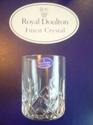 Royal Doulton Finest Crystal Tumblers (set Of 6 Boxed) • 44.99£