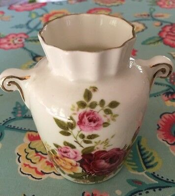 Beautiful Bone China Sutherland Miniature Floral Vase • 4.99£