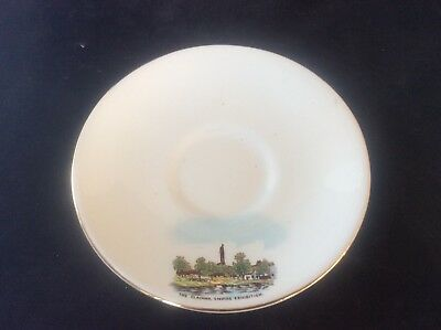 Glasgow Scottish 1938 Empire Exhibition WH GOSS Saucer The Clachan Tower 20 • 9.99£