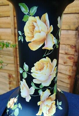 Vintage Crown Ducal Vase, Rare Yellow Roses.Early,  Gorgeous Piece. Shabby Chic. • 27£