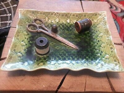 Rare Victorian Bretby 1136 Nicnac Tray - Wow Amazing  - Approx 9  X 6  • 79.99£