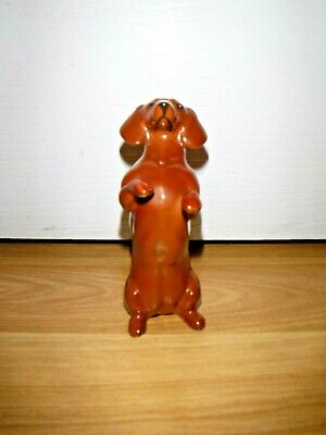 BESWICK Begging Dog Dachshund ~ 1461 ~ Gloss Tan Brown Figure ~ Excellent ~ 1st • 14.99£