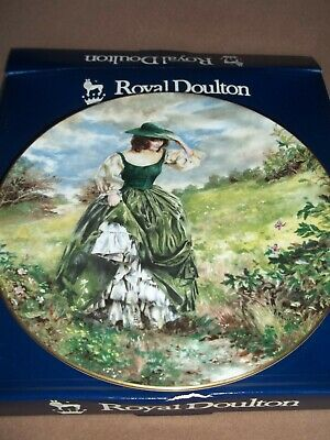Vintage Royal Doulton  Plate - Buttercup With Box • 8.95£