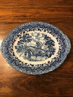 W.H.G Grindley Country Style Oval Plate  • 5£