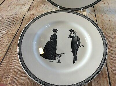 Skulls Dinnerware - Royal Stafford/Victorian English Pottery Tea Plates Last Few • 4.50£