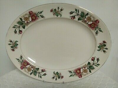 John Maddock And Sons Ivory Ware Plate • 22.99£
