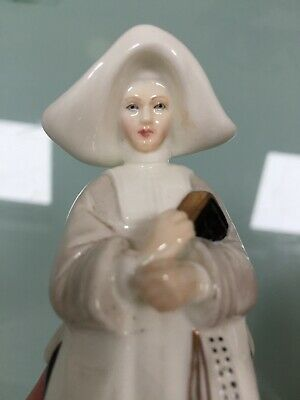 Royal Worcester Candle Snuffer Abbess. Perfect Condition. • 15£