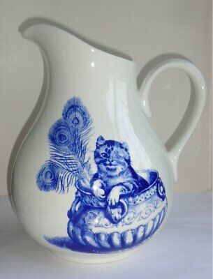 Poole Pottery / National Trust Large Kingston Lacy 'cats' Jug • 20£