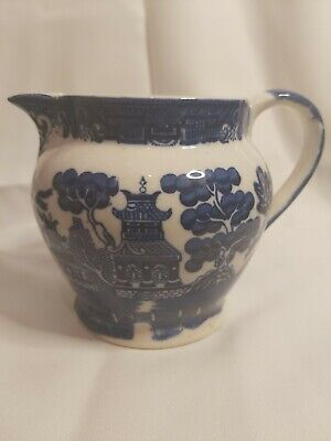 Allertons Willow Blue And White Pitcher/jug • 5£
